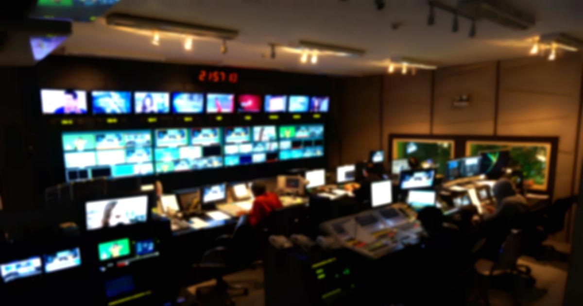 newsroom broadcast
