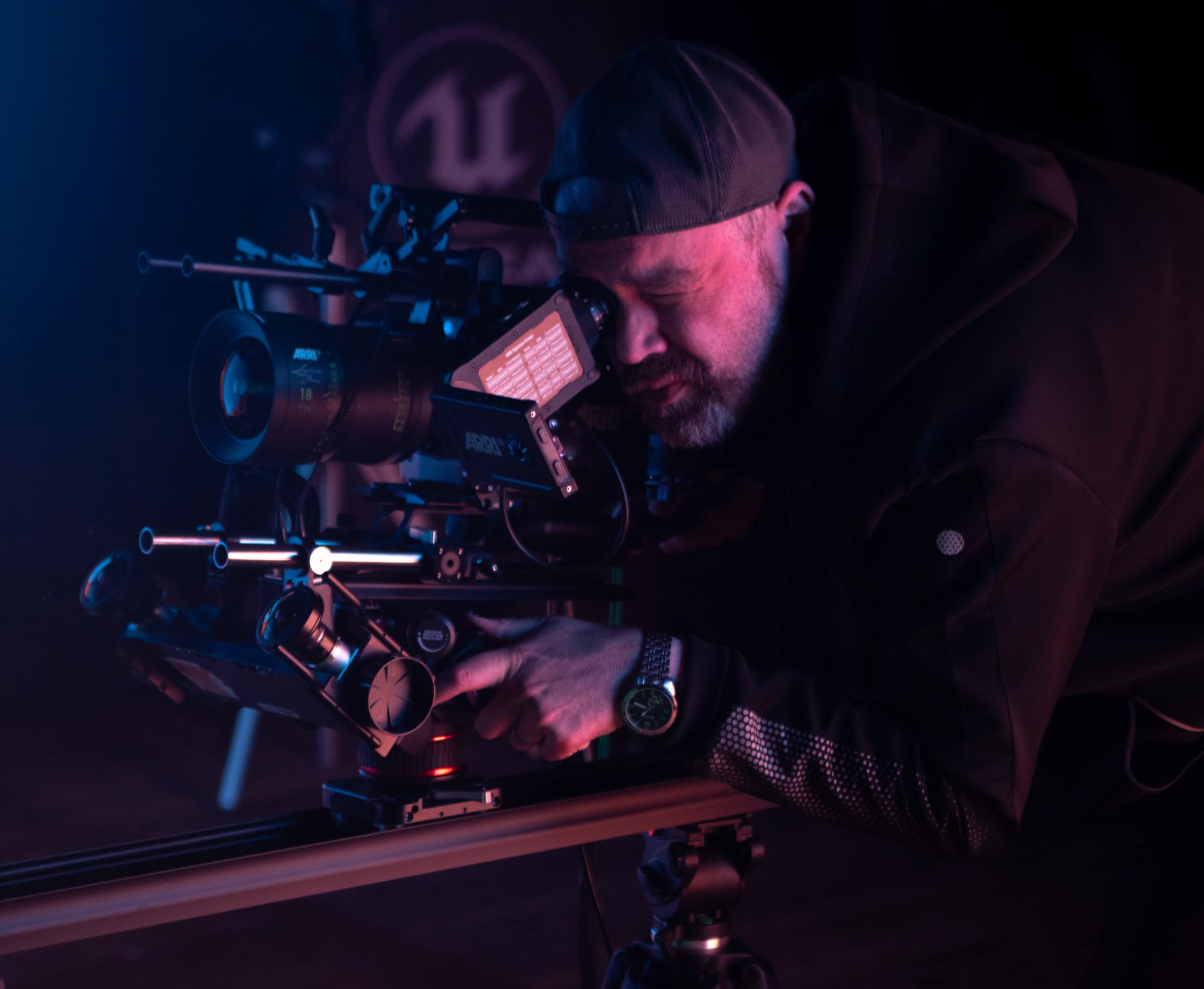 Asa Bailey, Virtual Production Director, On-Set Facilities