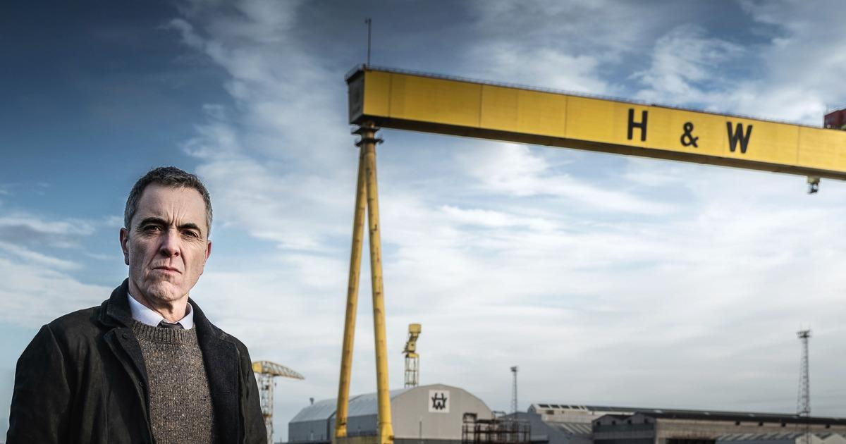 James Nesbitt as Tom Brannick in BLOODLANDS. Cr: HTM Television/Steffan Hill