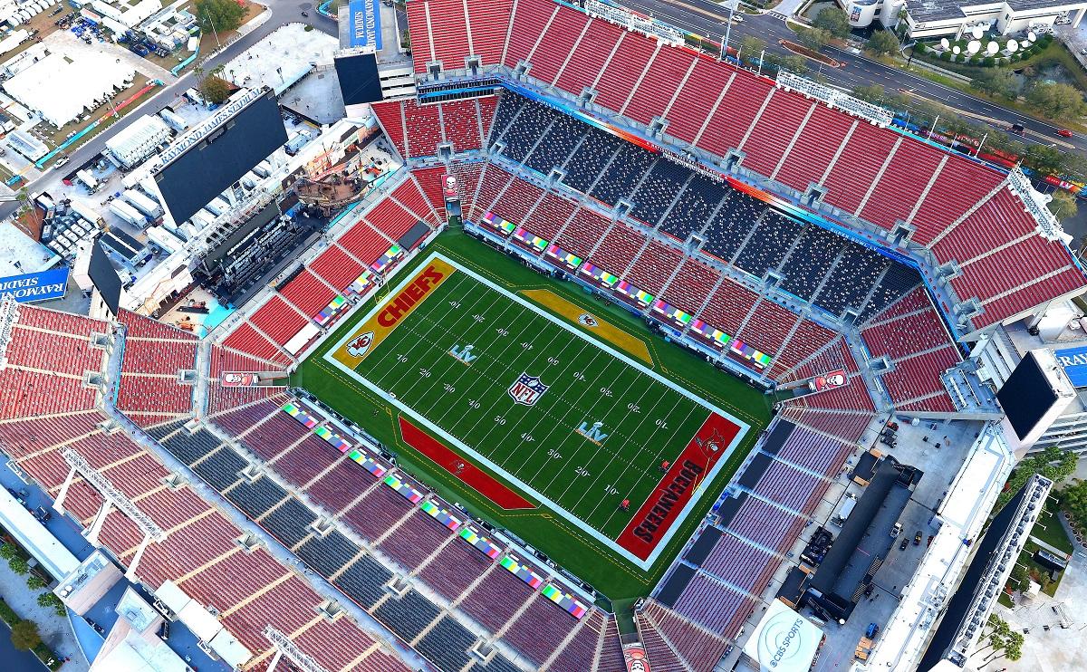 Raymond James Stadium. Cr: Getty Images