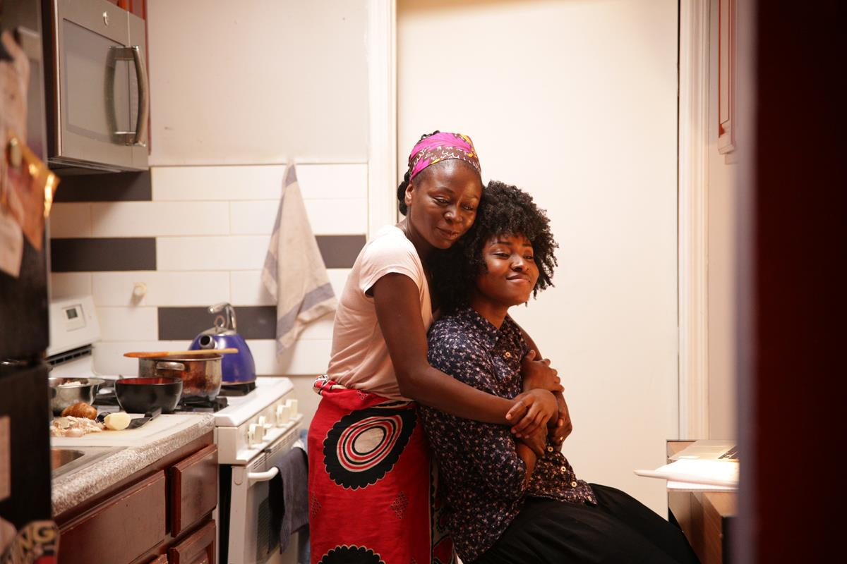 Zainab Jah as Esther and Jayme Lawson as Sylvia in Ekwa Msangi's FAREWELL AMOR. Cr: IFC Films