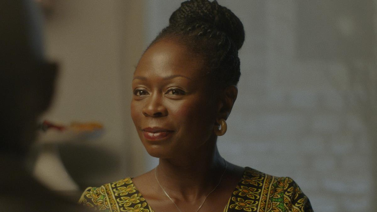 Zainab Jah as Esther in Ekwa Msangi's FAREWELL AMOR. Cr: IFC Films