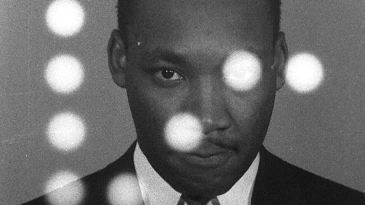 "Dr. Martin Luther King Jr. in Sam Pollard's ""MLK/FBI."" Cr: IFC Films"