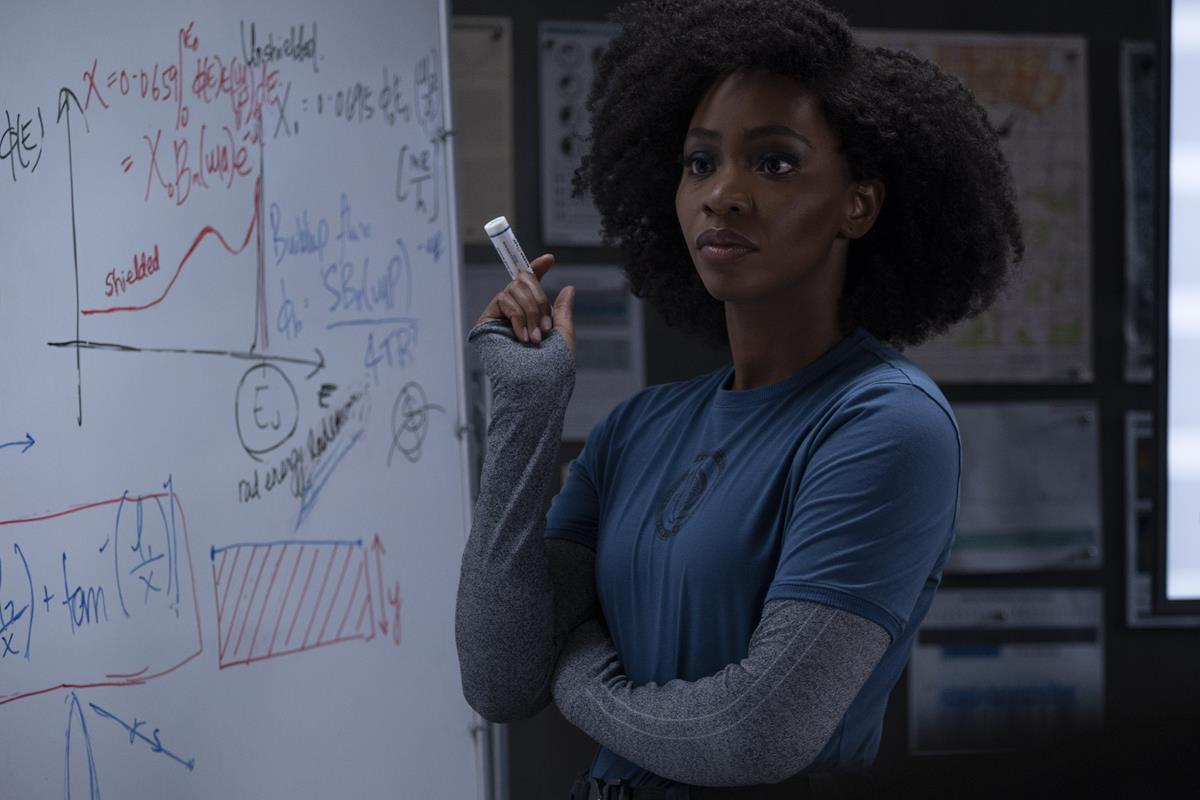 "Teyonah Parris as Monica Rambeau ""WandaVision."" Cr: Marvel Studios"