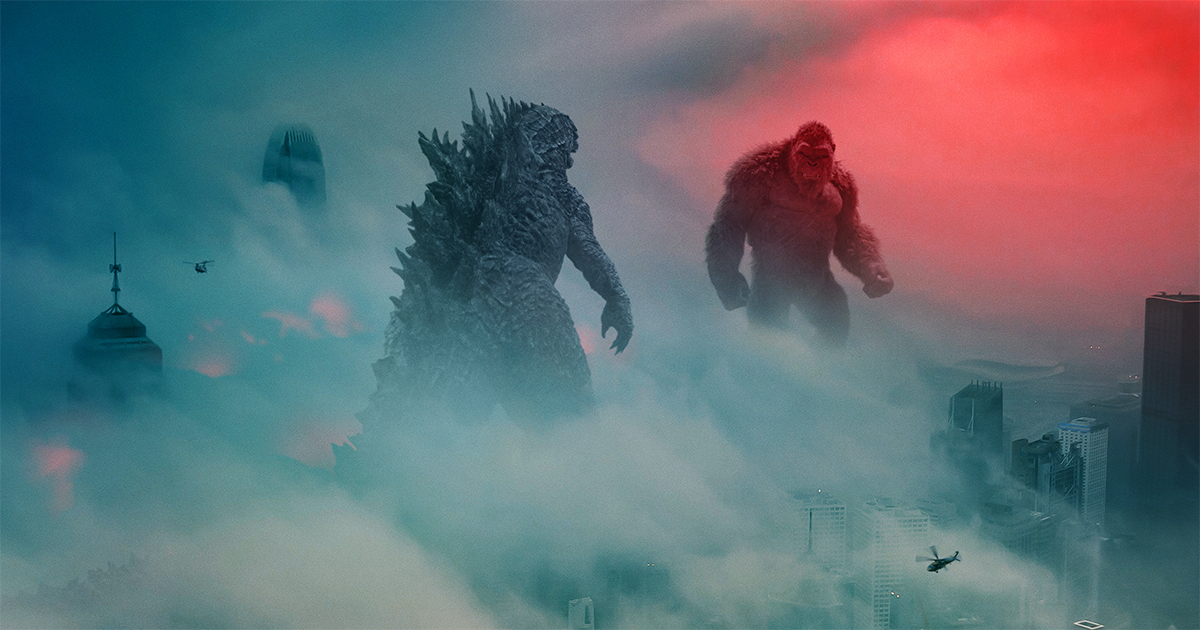 """Releasing both theatrically and on HBO Max is Warner Bros. Pictures' """"Godzilla vs. Kong"""""""