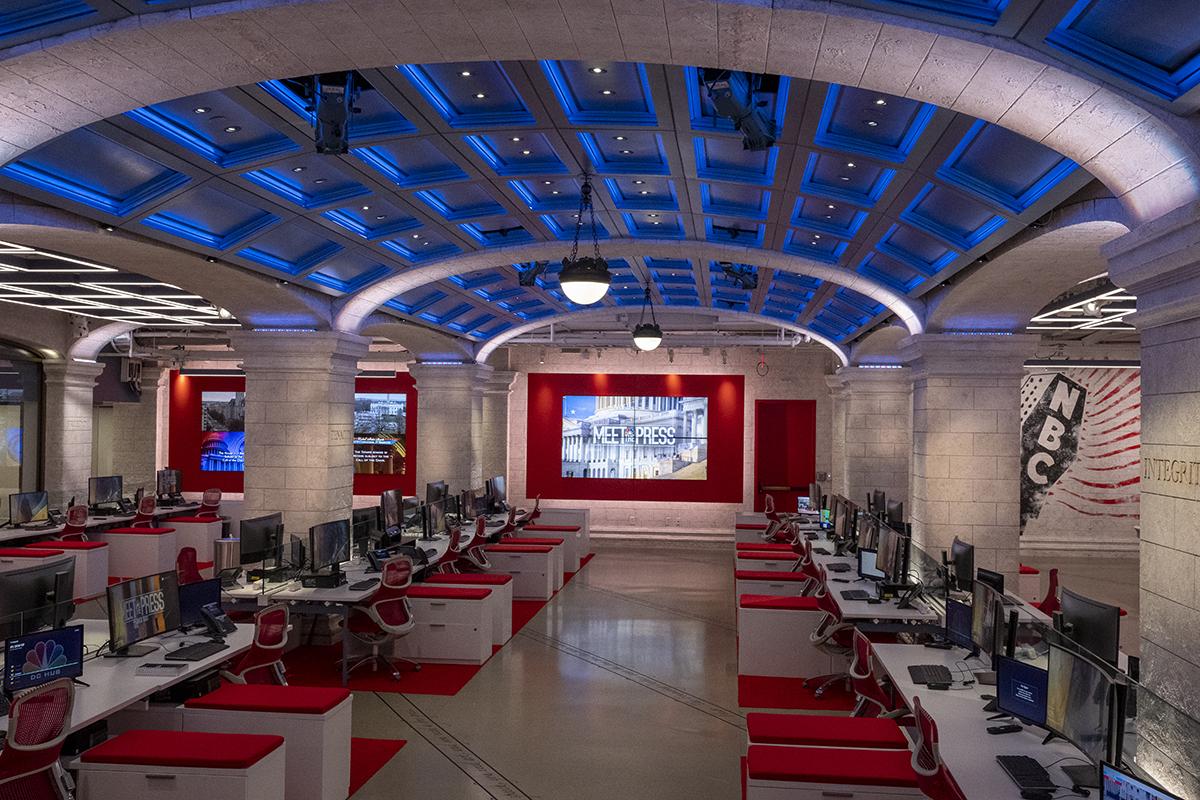 NBC newsroom