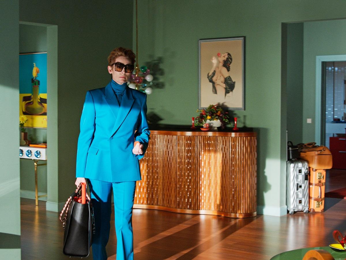 "Tilda Swinton as Her in ""The Human Voice."" Cr: José Luis Alcaine/ Sony Pictures Classics"