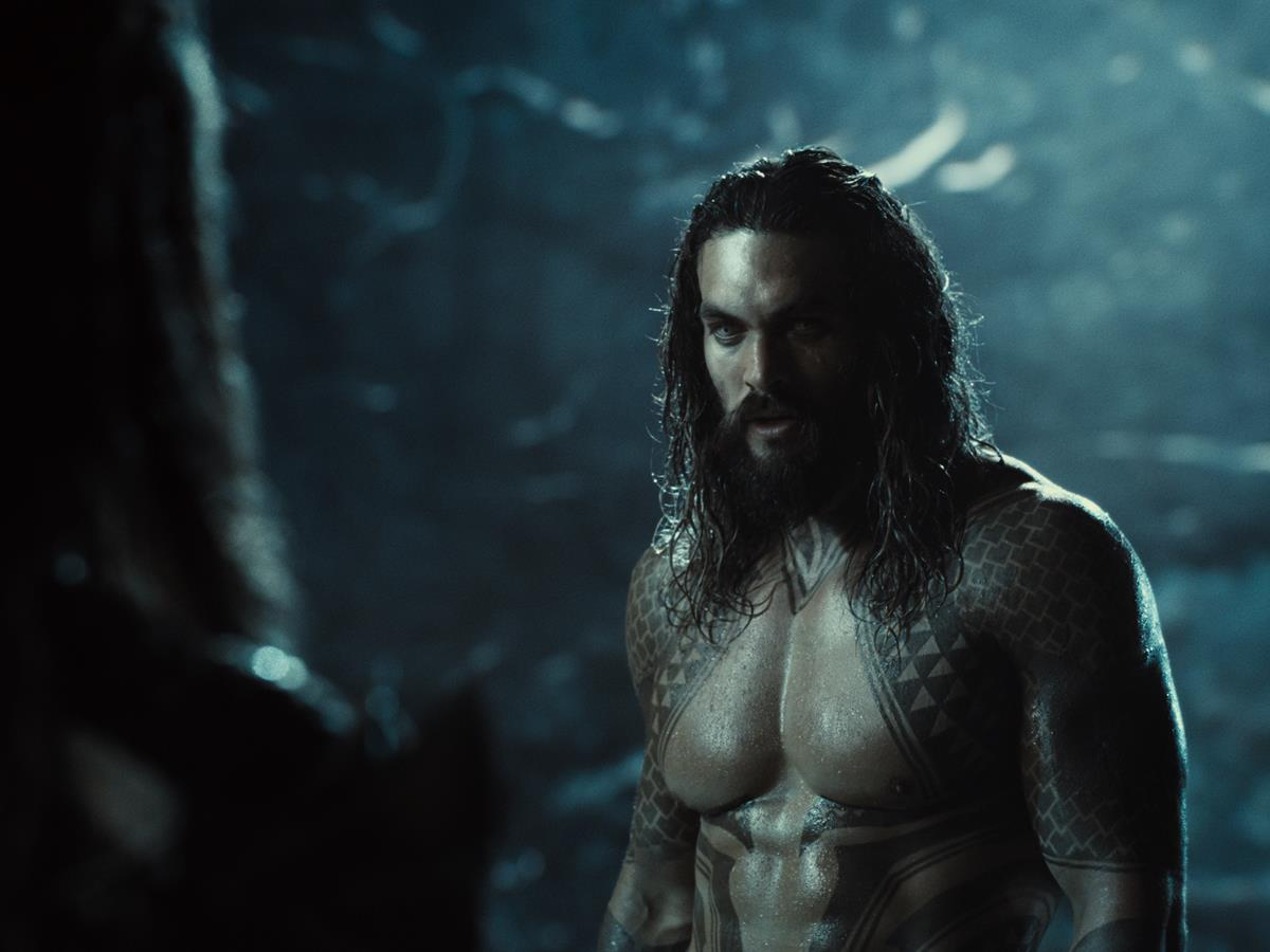 Jason Momoa as Aquaman/Arthur Curry in ZACK SNYDER'S JUSTICE LEAGUE. Cr: HBO Max