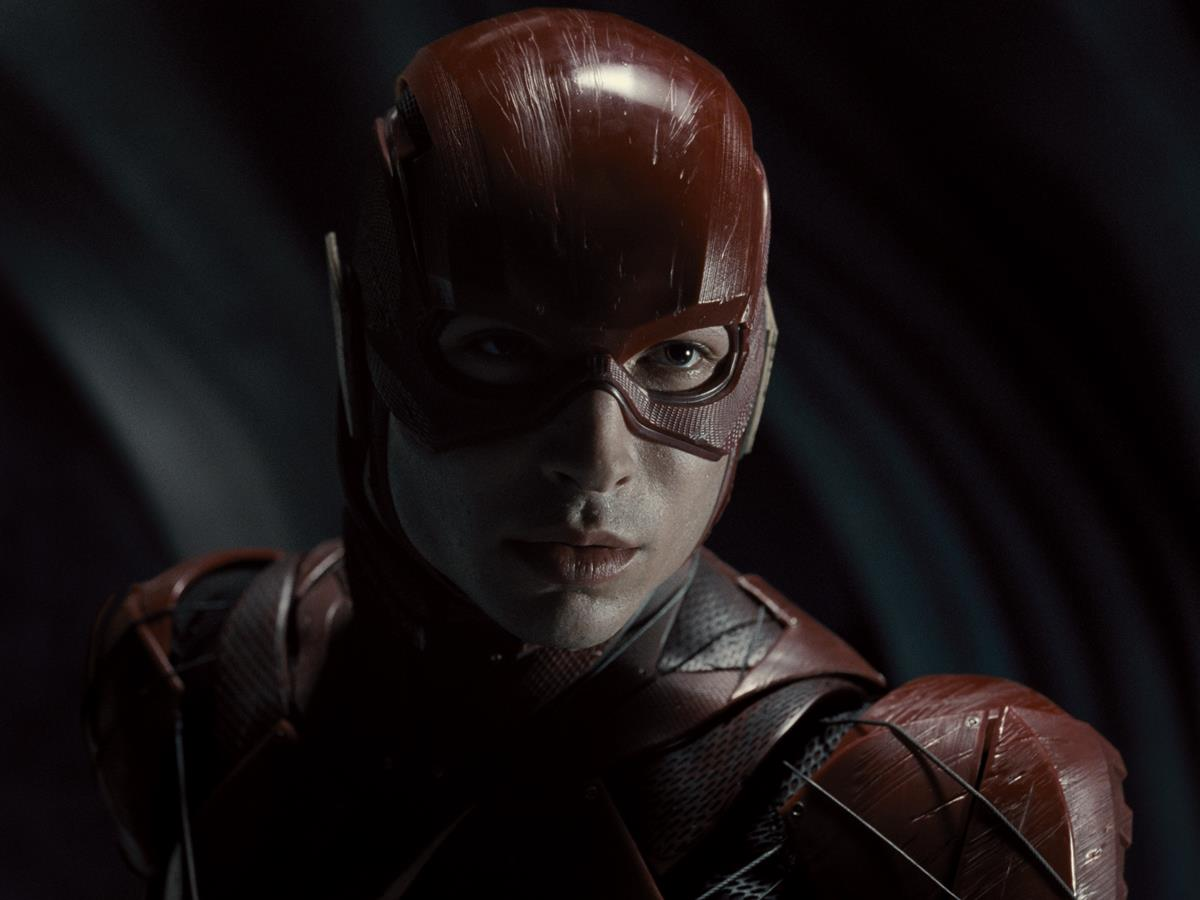 Ezra Miller as The Flash/Barry Allen in ZACK SNYDER'S JUSTICE LEAGUE. Cr: HBO Max