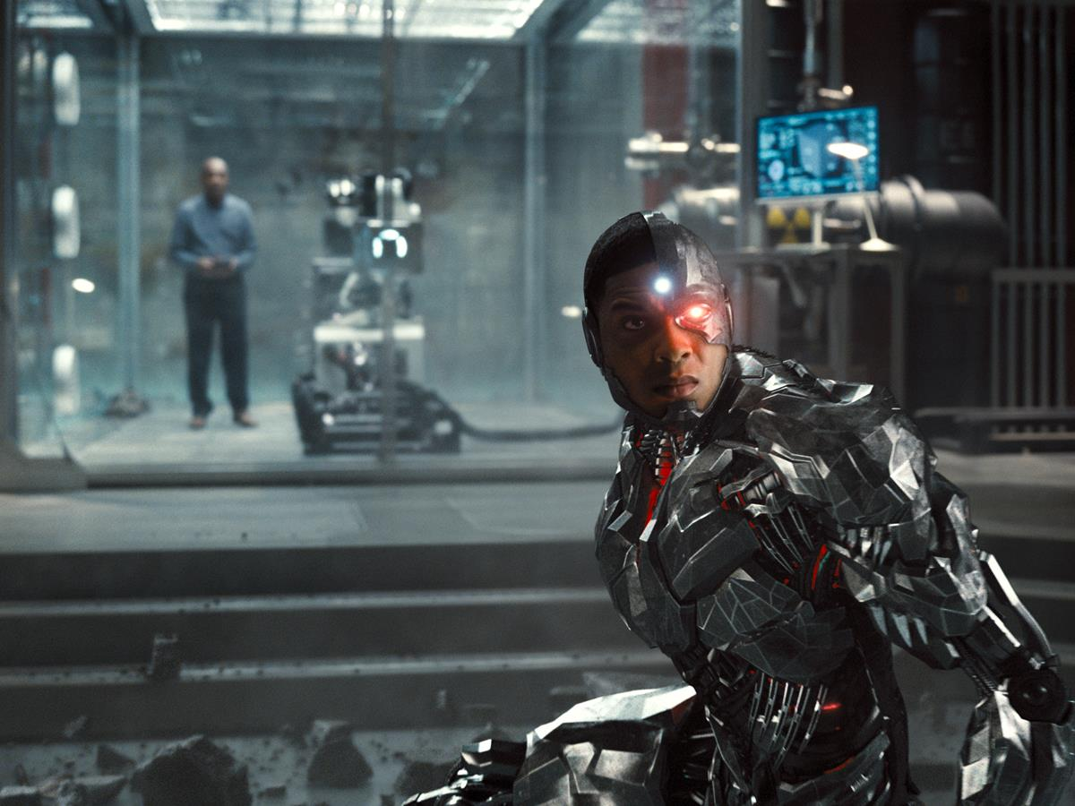 Ray Fisher as Cyborg/Victor Stone in ZACK SNYDER'S JUSTICE LEAGUE. Cr: HBO Max