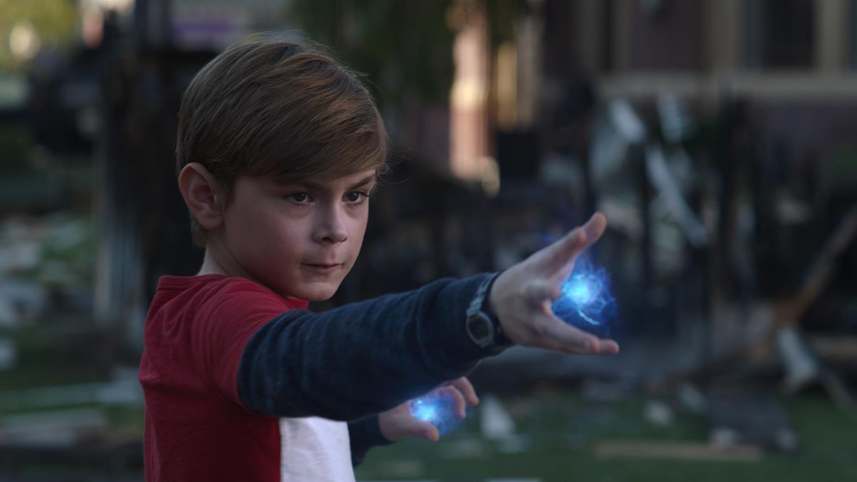 "Julian Hilliard as Billy in ""WandaVision."" Cr: Marvel Studios"