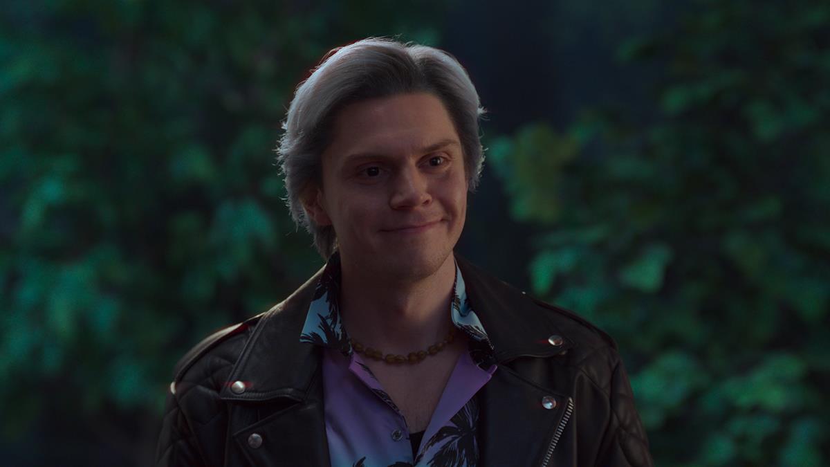 "Evan Peters as Pietro in ""WandaVision."" Cr: Marvel Studios"