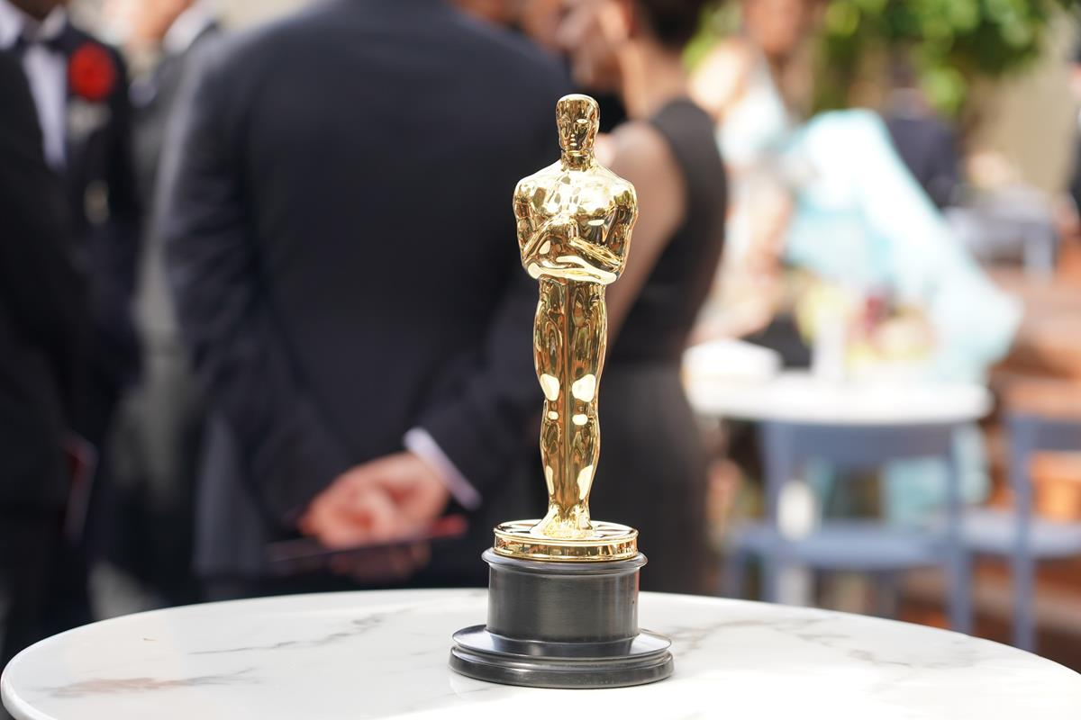 Oscar statuette at the 93rd Academy Awards at Union Station in Los Angeles. Cr: AMPAS/ABC