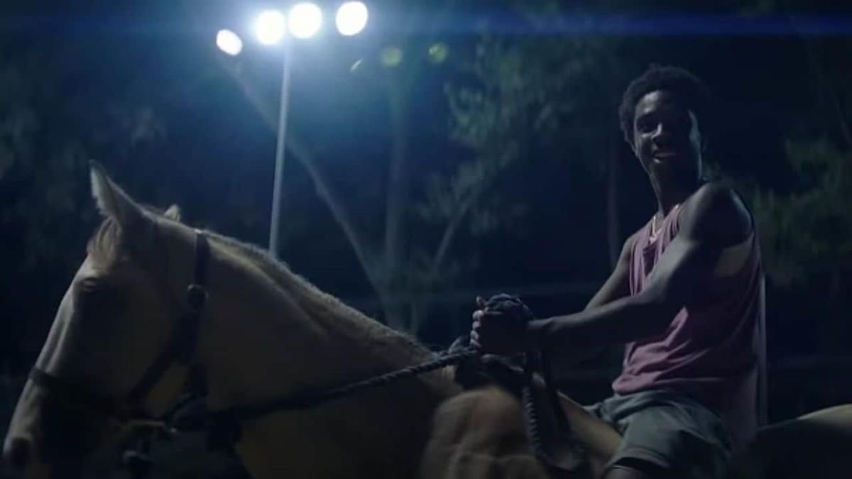 "Caleb McLaughlin in ""Concrete Cowboy."" Cr: Netflix"