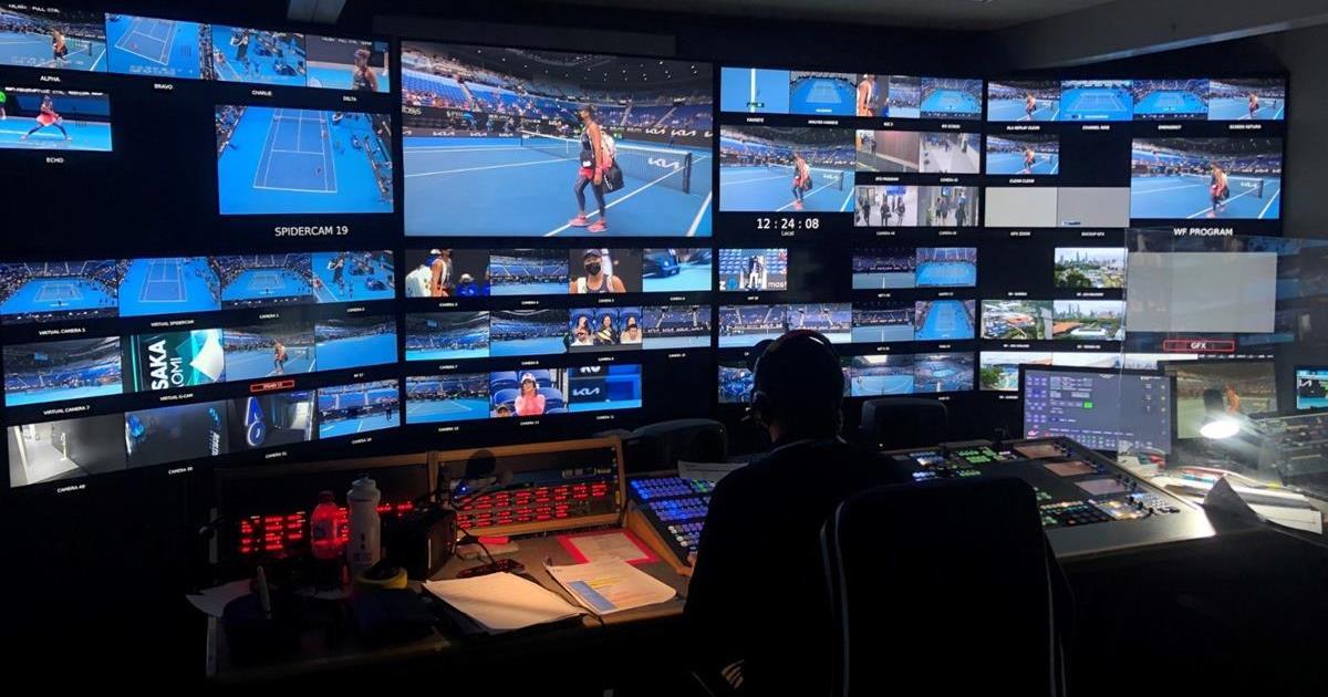 Gravity Media provided facilities for the 2021 Australian Open Grand Slam tennis tournament held in Melbourne in February.