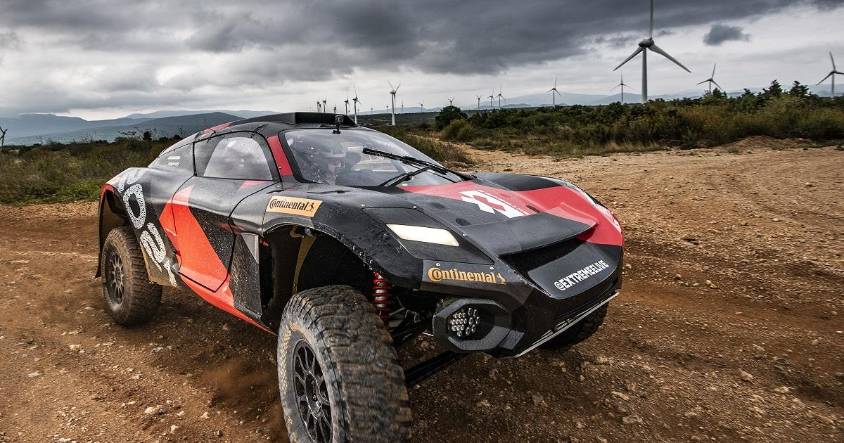 The all-new electric SUV race series Extreme E had its debut in Saudi Arabia earlier this month. Cr: Extreme E