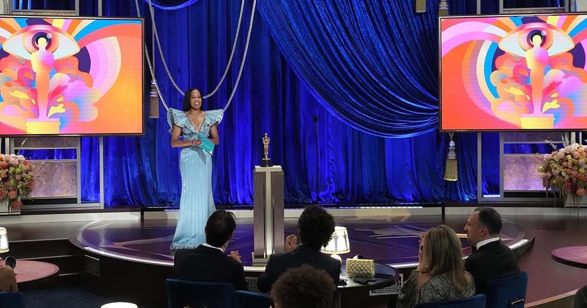 "Regina King, Oscar winner for ""If Beale Street Could Talk."" Cr: AMPAS/ABC"