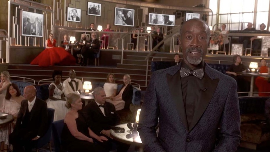 Presenter Don Cheadle on set at the 93rd Oscars in Union Station. Cr: AMPAS/ABC