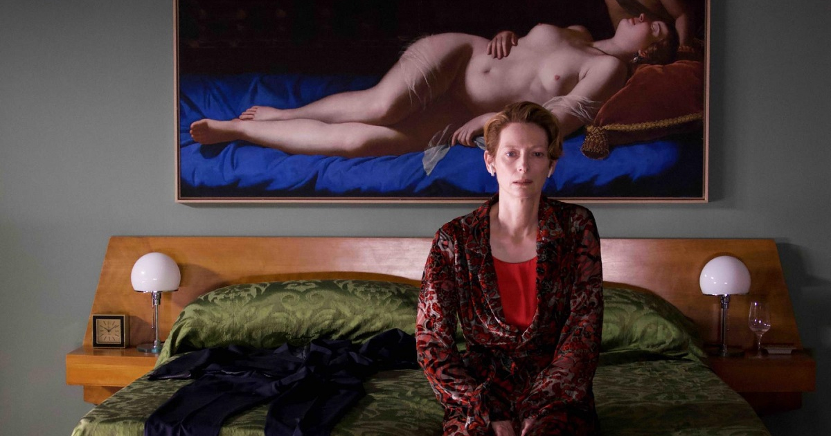 """Tilda Swinton as Her in """"The Human Voice."""" Cr: Iglesias Mas/Sony Pictures Classics"""