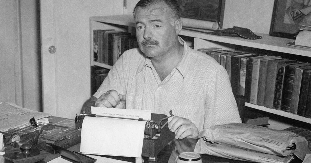 Ernest Hemingway. Cr: Ernest Hemingway Collection. John F. Kennedy Presidential Library and Museum, Boston