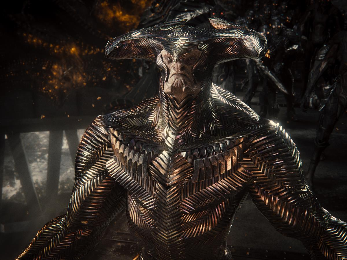 Ciarán Hinds as Steppenwolf in ZACK SNYDER'S JUSTICE LEAGUE. Cr: HBO Max