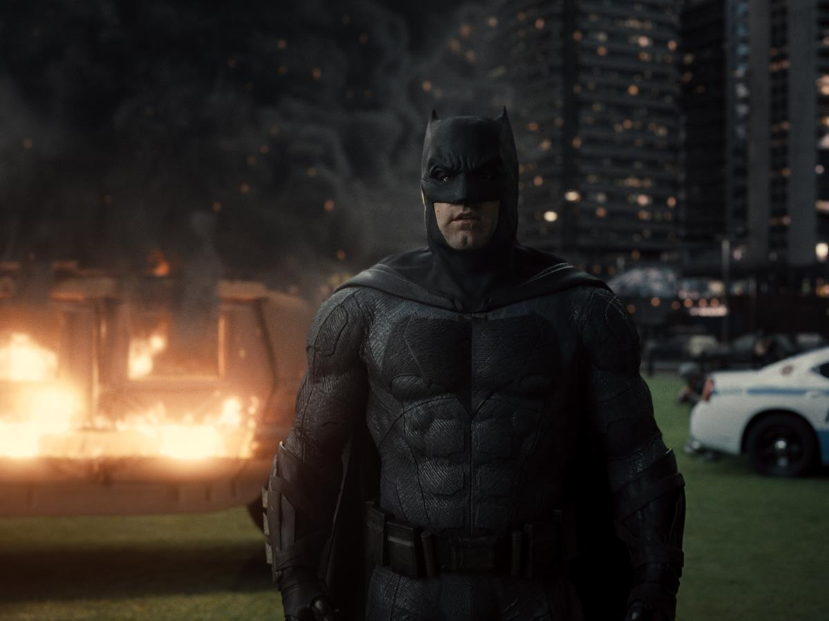 Ben Affleck as Batman/Bruce Wayne in ZACK SNYDER'S JUSTICE LEAGUE. Cr: HBO Max