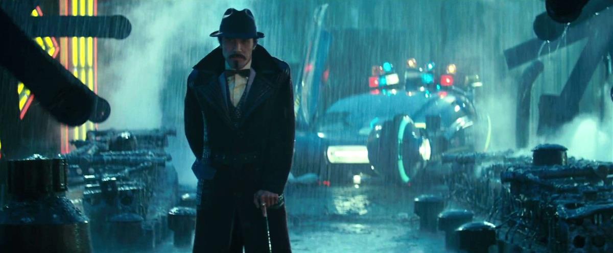 "Rain in Los Angeles in ""Blade Runner"" (1982) directed by Ridley Scott. Cr: Warner Bros."