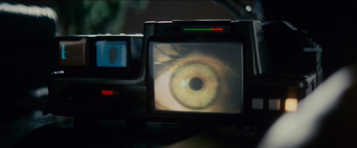 """The Voigt-Kampff machine in """"Blade Runner"""" (1982) directed by Ridley Scott. Cr: Warner Bros."""