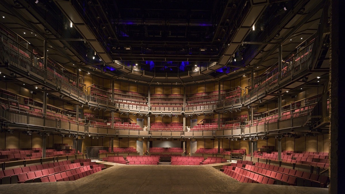 The Royal Shakespeare Theater in Stratford-upon-Avon.
