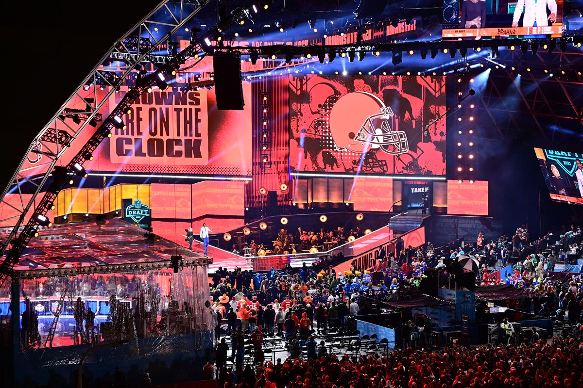 The 2021 NFL Draft. Cr: Phil Ellsworth/ESPN Images
