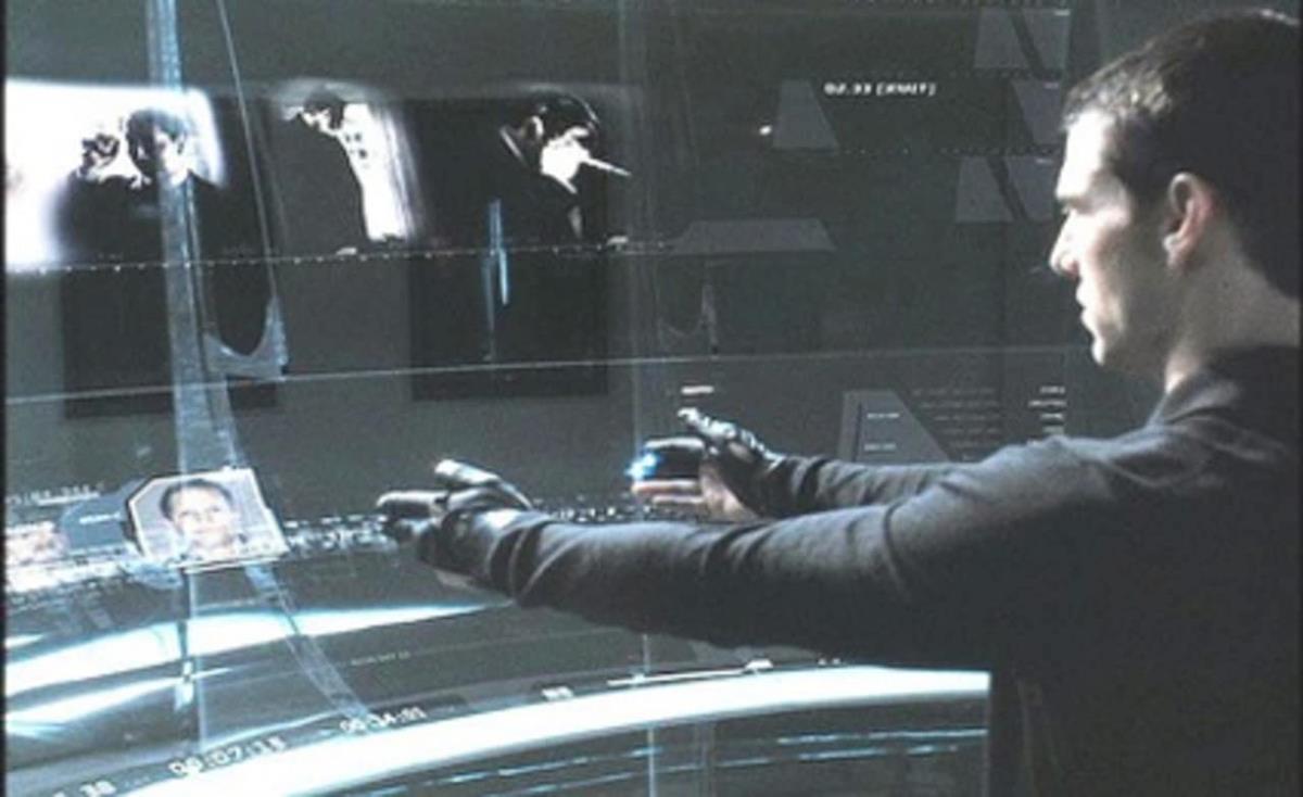 """Minority Report"" (2002) directed by Steven Spielberg. Cr: Warner Bros."