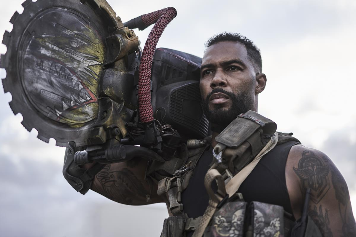 """Omari Hardwick as Vanderohe in """"Army of the Dead,"""" written and directed by Zack Snyder. Cr: Clay Enos/Netflix"""