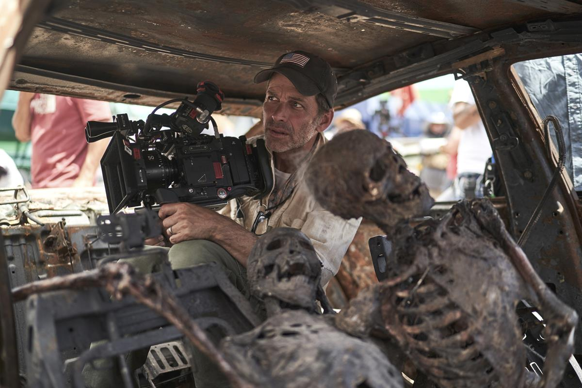 """""""I was experimenting with how much natural lighting I could do… it was liberating."""" filmmaker Zack Snyder said of shooting with the RED Monstro. Cr: Clay Enos/Netflix"""