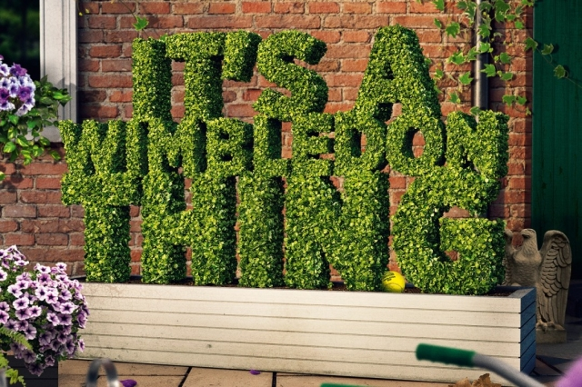 It's a Wimbledon Thing is a new campaign to celebrate the passion of fans, through their traditions and rituals, all around the world.