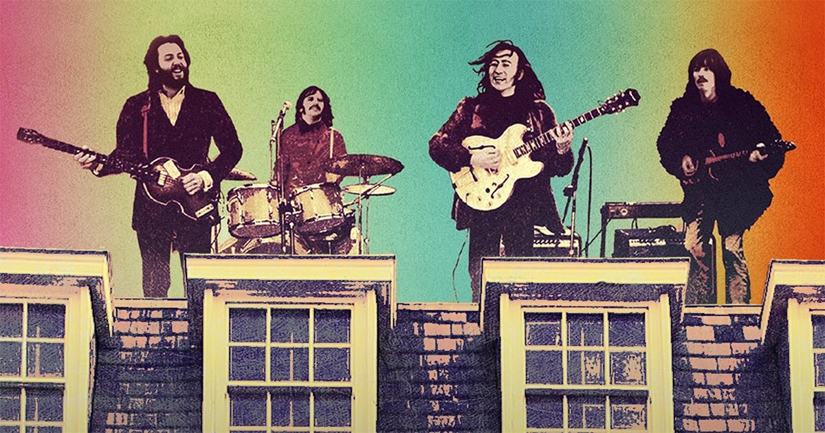"""The Beatles: Get Back."" Cr: Apple Corps Ltd./Disney"