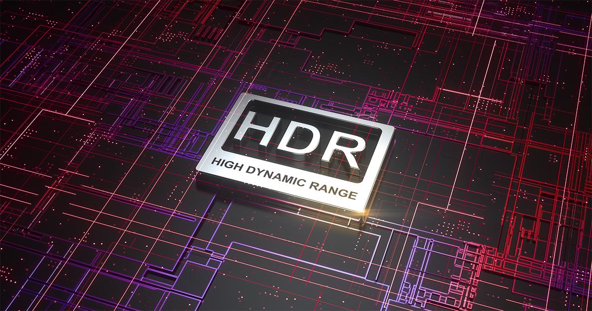 HDR high dynamic range