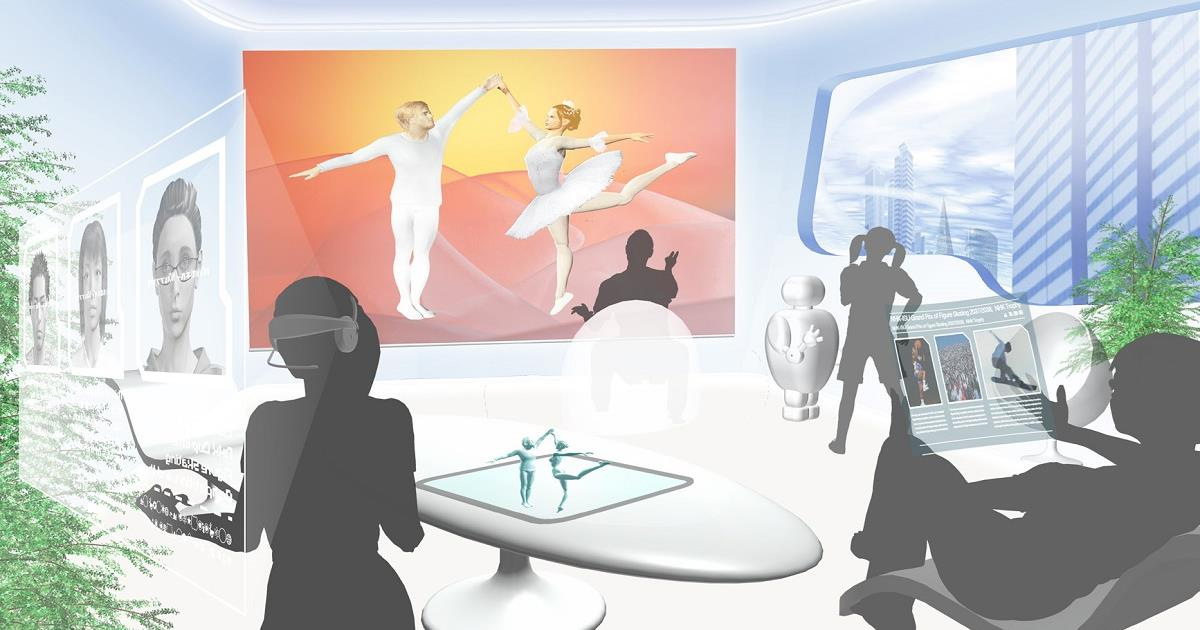 While the rest of the world remains in SD, the NHK Science & Technology Research Lab (STRL) has moved beyond 8K to focus on immersive content production and display technologies. Cr: NHK