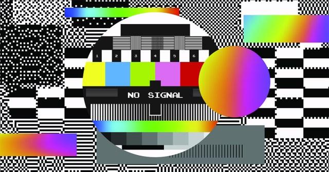 TV news technology no signal