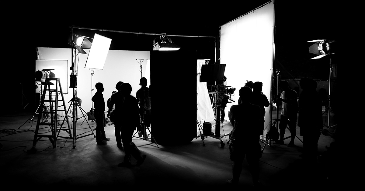 workforce on set