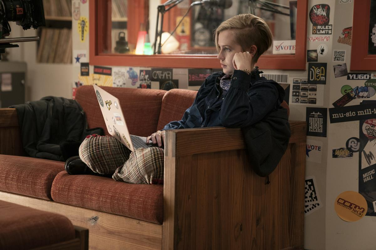 """Angourie Rice in """"Mare of Easttown."""" Cr: HBO"""