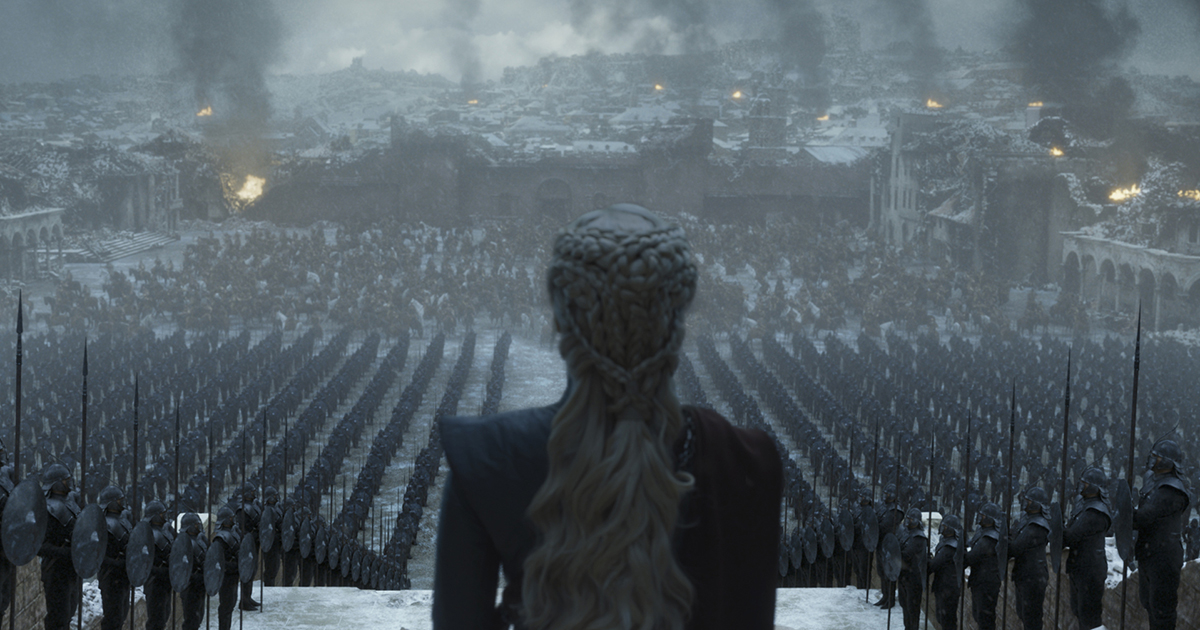 """Emilia Clarke in HBO's """"Game of Thrones,"""" courtesy of HBO"""