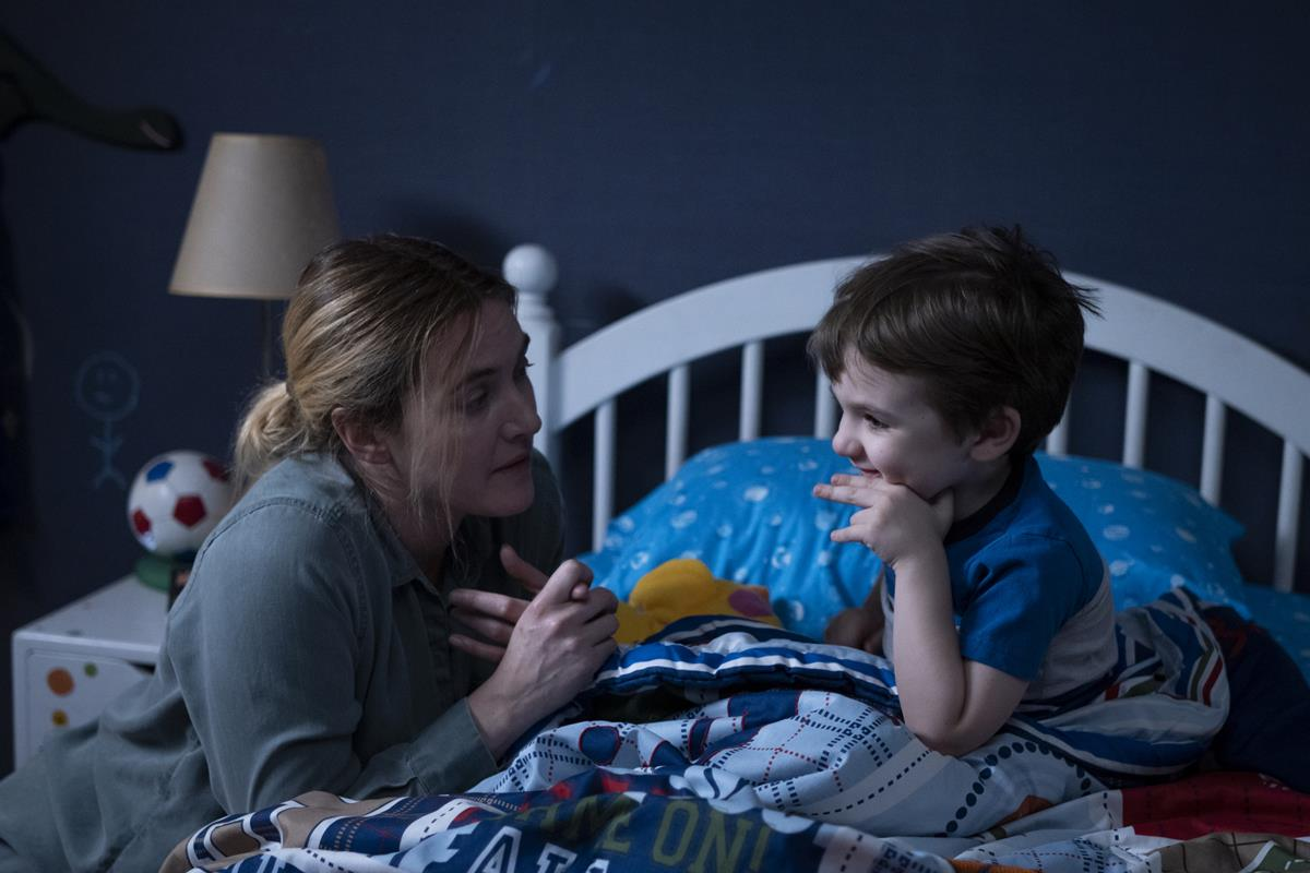 """Kate Winslet and Izzy King in """"Mare of Easttown."""" Cr: HBO"""