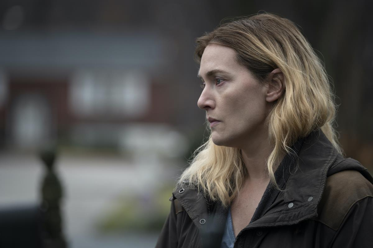 """Kate Winslet in """"Mare of Easttown."""" Cr: HBO"""