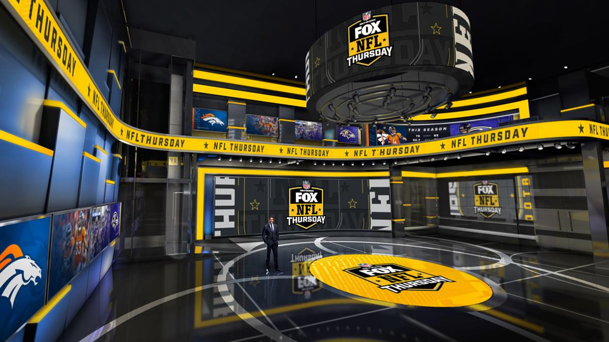 """""""We were created in 1994 and were literally born to do football. So football is what we live and breathe every day at FOX Sports,"""" says CEO Eric Shanks. Cr: Newscast Studio"""