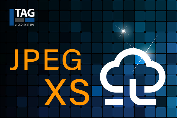 JPEG XS logo. Cr: TAG Video Systems