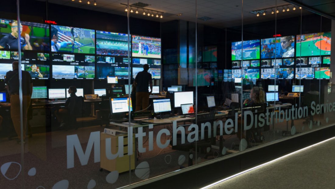 Rio 2016: The MDS is a turnkey service that provides RHBs with ready-to-air TV channels, as well as distribution channels. For Tokyo 2020, RHBs have access to more than 3,500 hours of content, including approximately 2,400 hours of live sports and Ceremonies. Cr: Cristina Ponce de León, OBS