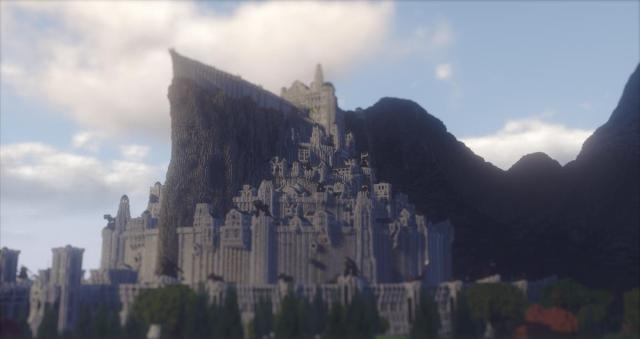 Cr: Minecraft Middle Earth