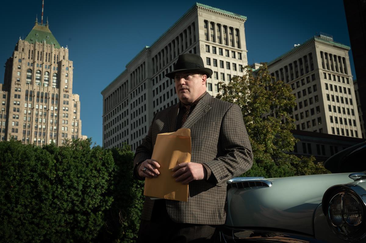 "Brendan Fraser as Doug Jones in HBO Max and Warner Bros. Pictures' crime drama ""No Sudden Move."" Cr: Claudette Barius/Warner Bros."