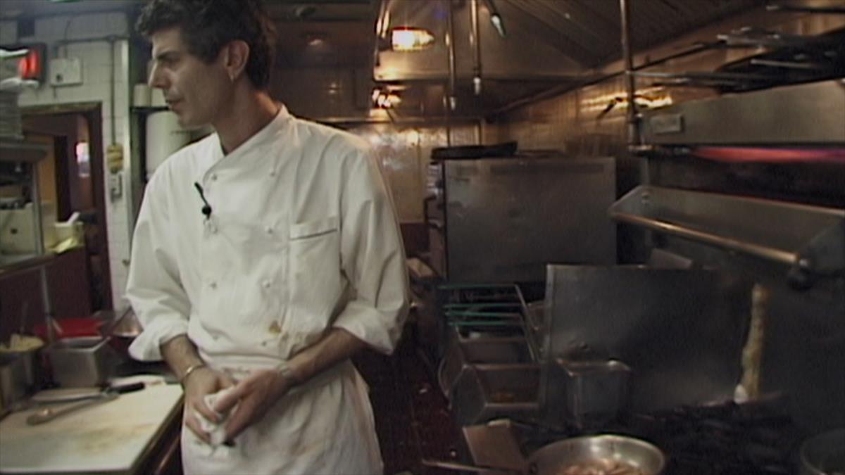 """Anthony Bourdain stars in Morgan Neville's documentary """"Roadrunner."""" Cr: Dmitri Kasterine/Focus Features"""
