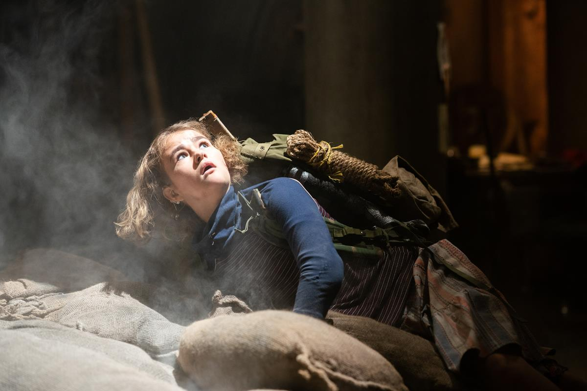 """Regan (Millicent Simmonds) braves the unknown in """"A Quiet Place Part II."""" Cr: Paramount Pictures"""